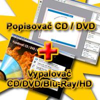Vypalovač CD / DVD / Blu-ray / HD-DVD + CD - DVD popisovač