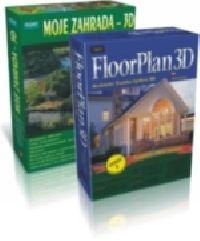 FloorPlan 3D v8 + Moje zahrada 3D verze 2009