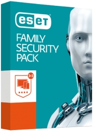ESET Family Security Pack - na 1 rok/3 PC