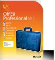 Office Pro 2010 32-bit / x64 CZ DVD + Office 2013 na další počítač zdarma