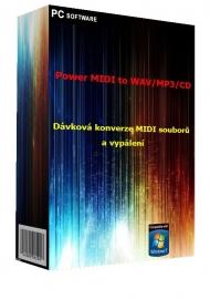 Power MIDI to WAV/MP3/CD