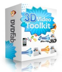 DVDFab 3D Video Toolkit - licence s updaty na 1 rok