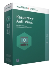 Kaspersky Anti-Virus - 1 rok/1 PC