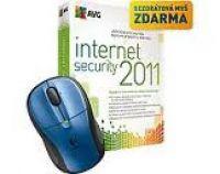 AVG Internet Security 2011 na 1 rok + Bezdrátová myš Logitech M305 + zdarma upg na verzi 2012