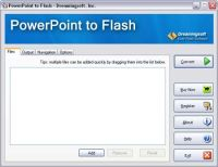 Dreamingsoft PowerPoint to Flash