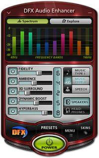 DFX Plus Audio Enhancer