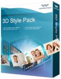 Wondershare 3D Style Pack