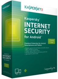 Kaspersky Internet Security for Android - 1 mobil nebo tablet/1 rok