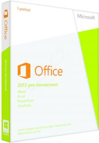 Office 2013 pro domácnosti 32-bit/x64 CZ