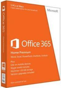 Office 365 pro domácnosti 32-bit/x64 CZ