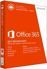 Office 365 pro domácnosti 32-bit/x64 CZ ESD