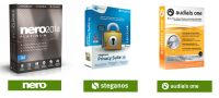 Nero 2014 Platinum + Steganos Privacy Suite 15 + Audials One 11 - elektronicky
