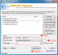 Any DWG DXF Converter Standard