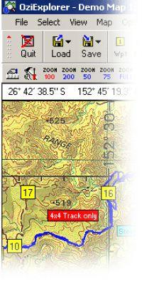 OziExplorer - GPS Mapping Software