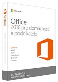 Office 2016 pro domácnosti a podnikatele ESD