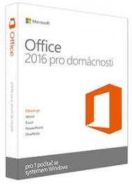 Office 2016 pro domácnosti a studenty ESD