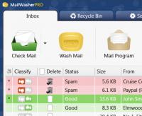 MailWasher Pro - obnovení pro