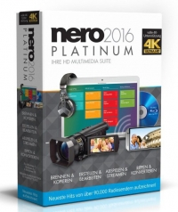 Nero 2016 Platinum + Music Recorder ZDARMA