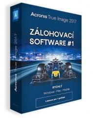 Acronis True Image 2017 BOX CZ - 1 PC