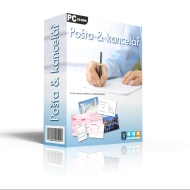 Pošta a kancelář - domácnost s neomezenými aktualizacemi - BOX + Tištěný manuál a 5 pohlednic ZDARMA
