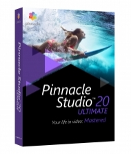 Pinnacle Studio 20 Ultimate CZ UPGRADE + Příručka ZDARMA!