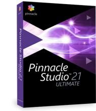 Pinnacle Studio 21 Ultimate CZ + Příručka ZDARMA!