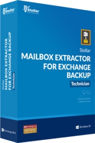 Stellar Mailbox Extractor for Exchange Backup