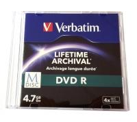 M-DISC DVD-R 4.7GB archivace po dobu až 1332 let 1ks
