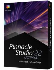 Pinnacle Studio 22 Ultimate CZ + Příručka ZDARMA!