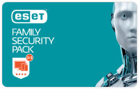 ESET Family Security Pack - prodloužení - 1 rok/3 PC+3x Android
