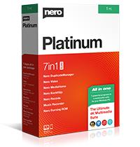 Nero Platinum Unlimited - CZ - trvalá licence - 7 programů v 1