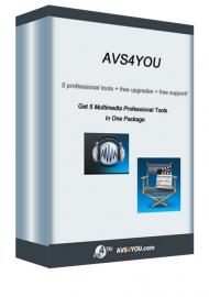AVS4YOU - balík 5 programů