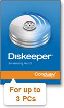 Diskeeper Home Edition - instalace až na 3 PC