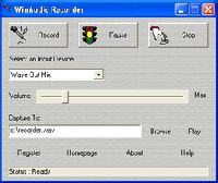 WinAudio Recorder