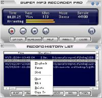 Super Mp3 Recorder Professional
