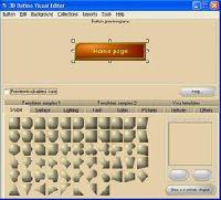 3D Button Visual Editor Light