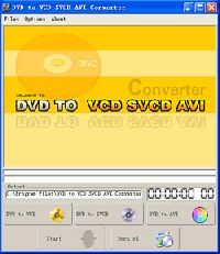 DVD to VCD SVCD AVI Converter