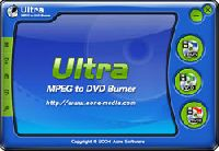 Ultra MPEG to DVD Burner