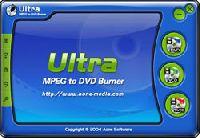 Ultra MPEG to DVD Burner