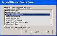 Popup Killer and Tracks Eraser