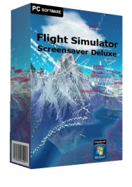Flight Simulator Screensaver Deluxe