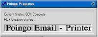 Poingo E-mail Printer