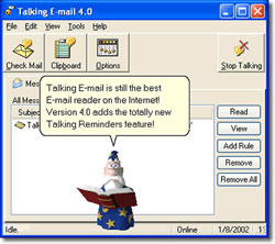 Talking E-mail Single