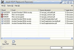 Adult PDF Password Recovery