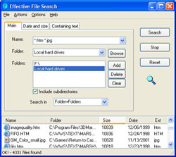 Effective File Search