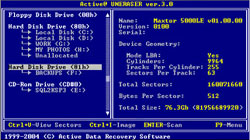 Active@ UNERASER for DOS