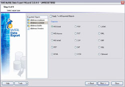 EMS Data Export for MySQL Linux edition