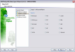 EMS PostgreSQL Data Export for Windows - Business