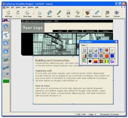 CoffeeCup VisualSite Designer