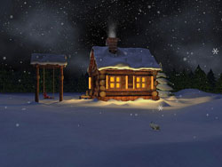 Mild Winter 3D Screensaver